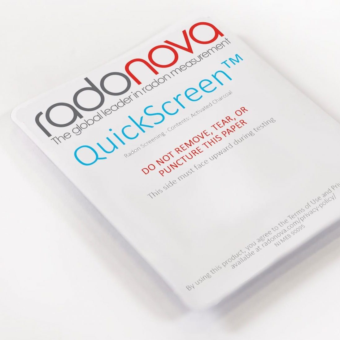 QuickScreen - Radon Screening Test Kit